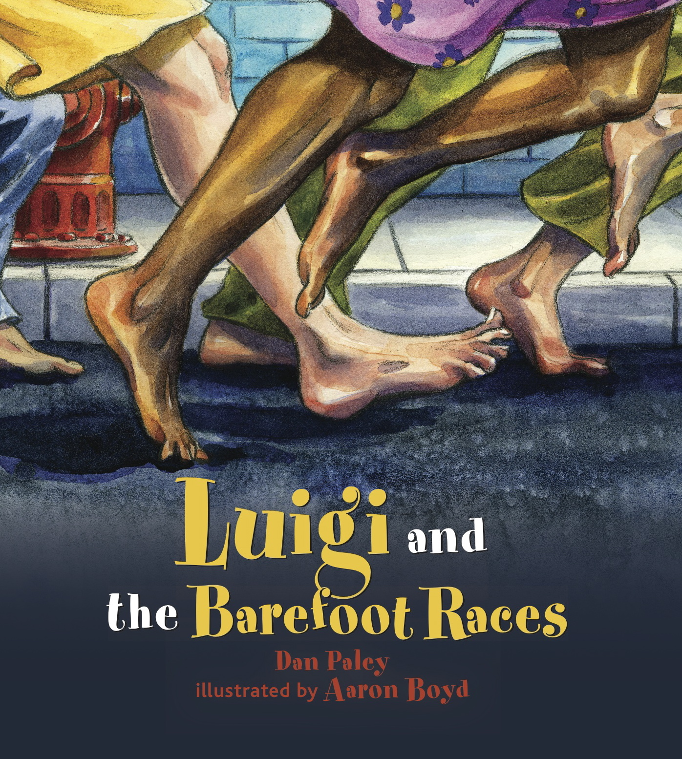Luigi and the Barefoot Races