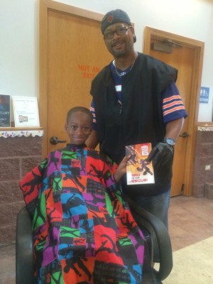 Barber Takes Action to Encourage Young Kids to Read