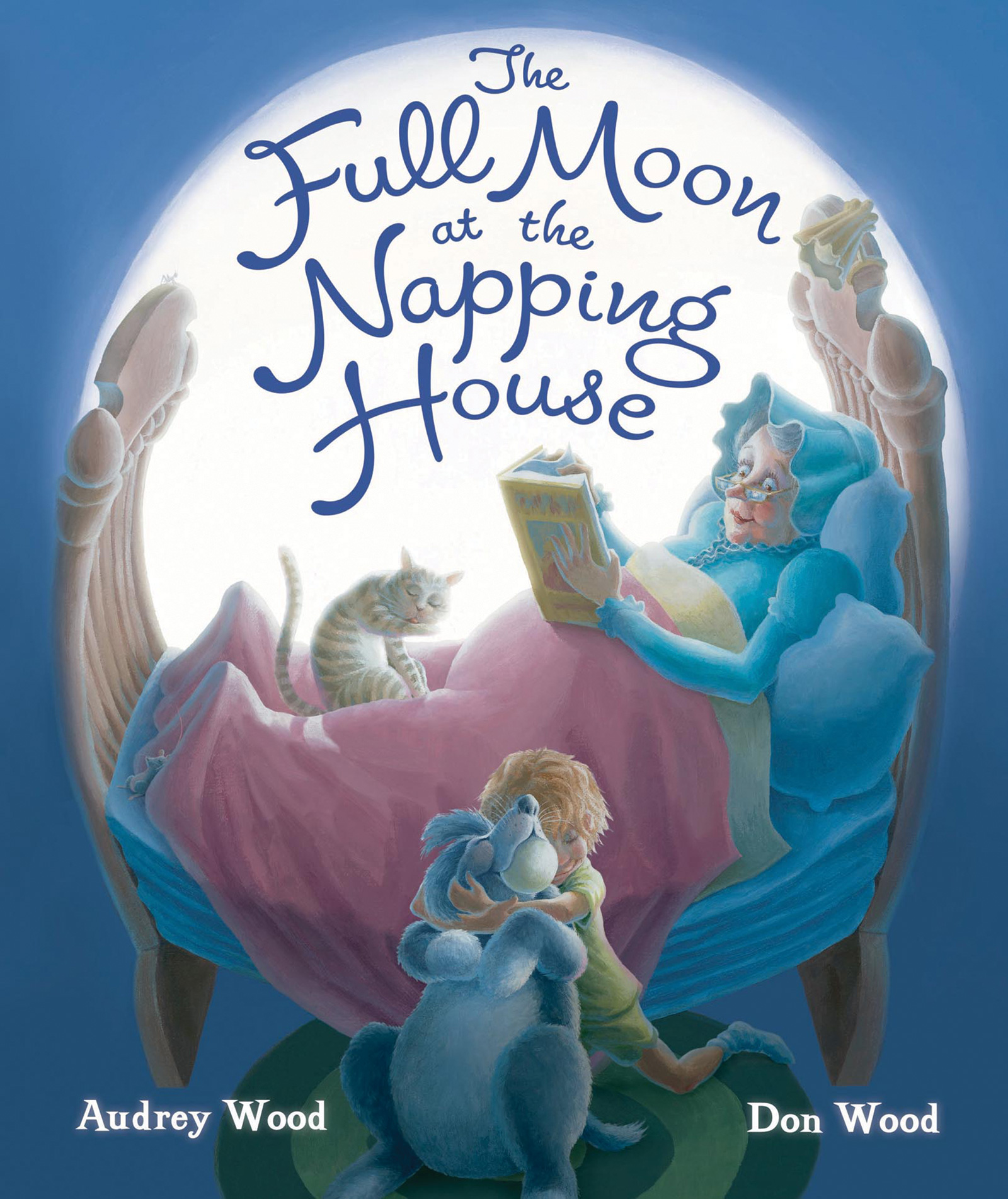 Full Moon at the Napping House