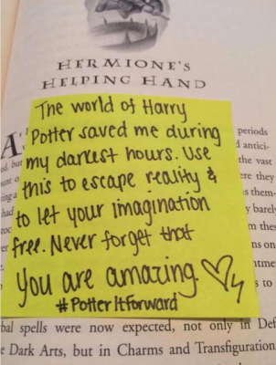 Cbcadmin childrens book council page 6 harry potter fans share notes with potteritforward fandeluxe Image collections