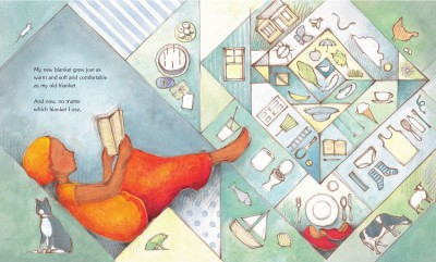 #DrawingDiversity: 'My Two Blankets' by Irena Kobald, illustrations by Freya Blackwood