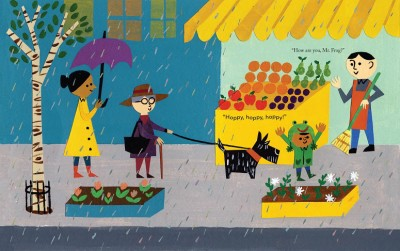 #DrawingDiversity: 'Rain!' by Linda Ashman, illustrated by Christian Robinson
