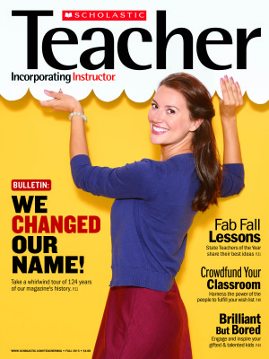 Scholastic Unveils Newly-Branded Magazine For K-8 Teachers