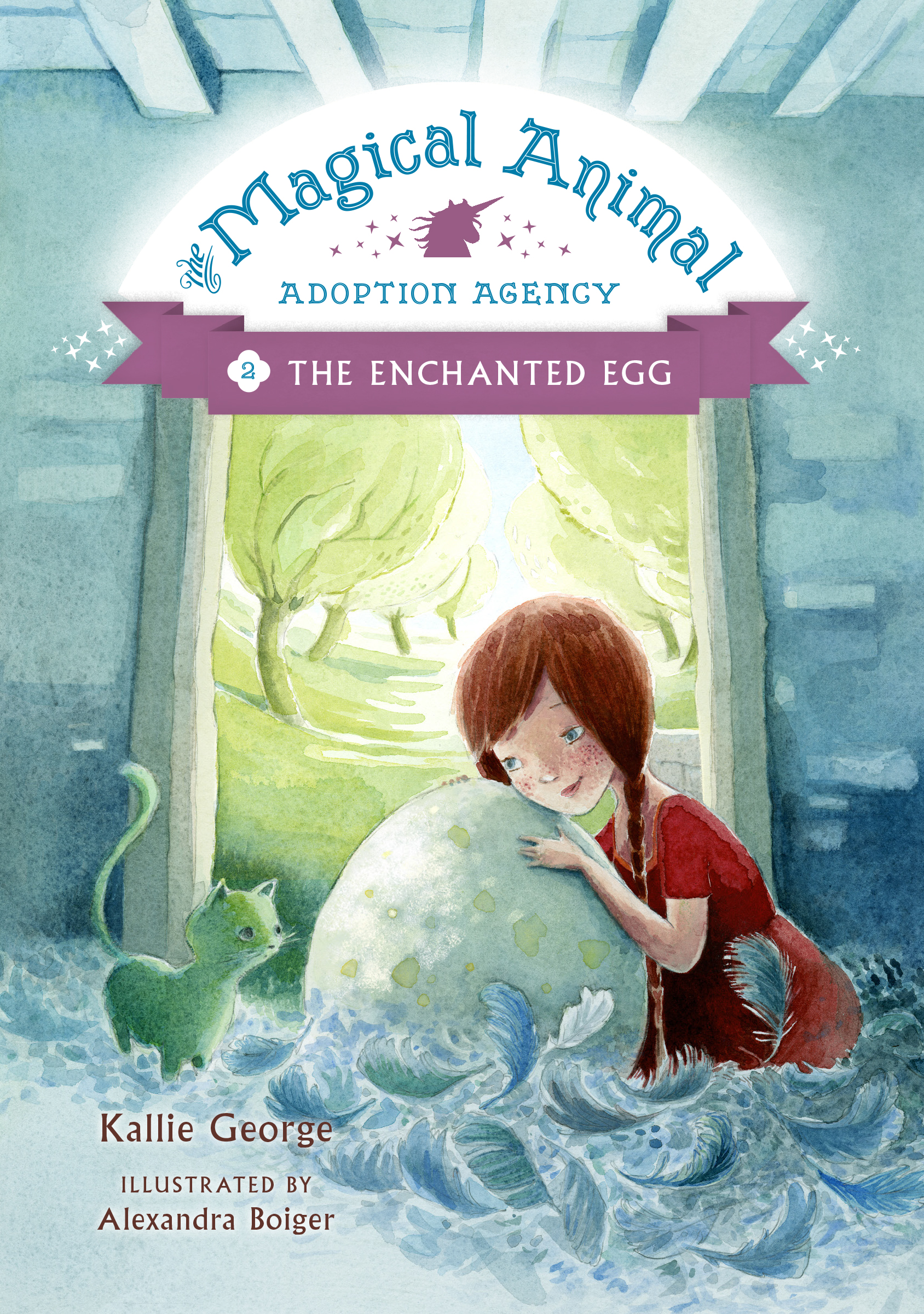 Magical Animal Adoption Agency: The Enchanted Egg