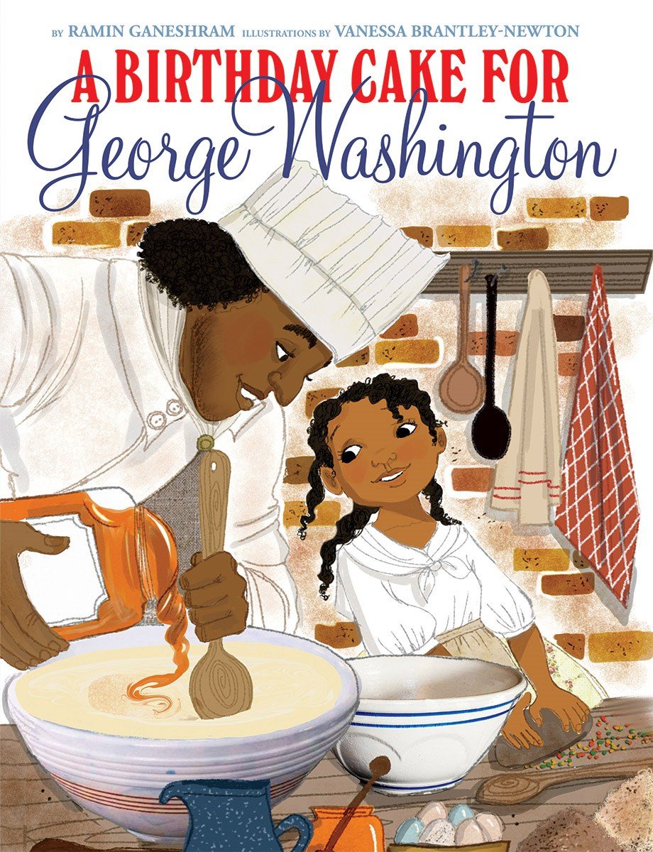A Birthday Cake For George Washington Childrens Book Council
