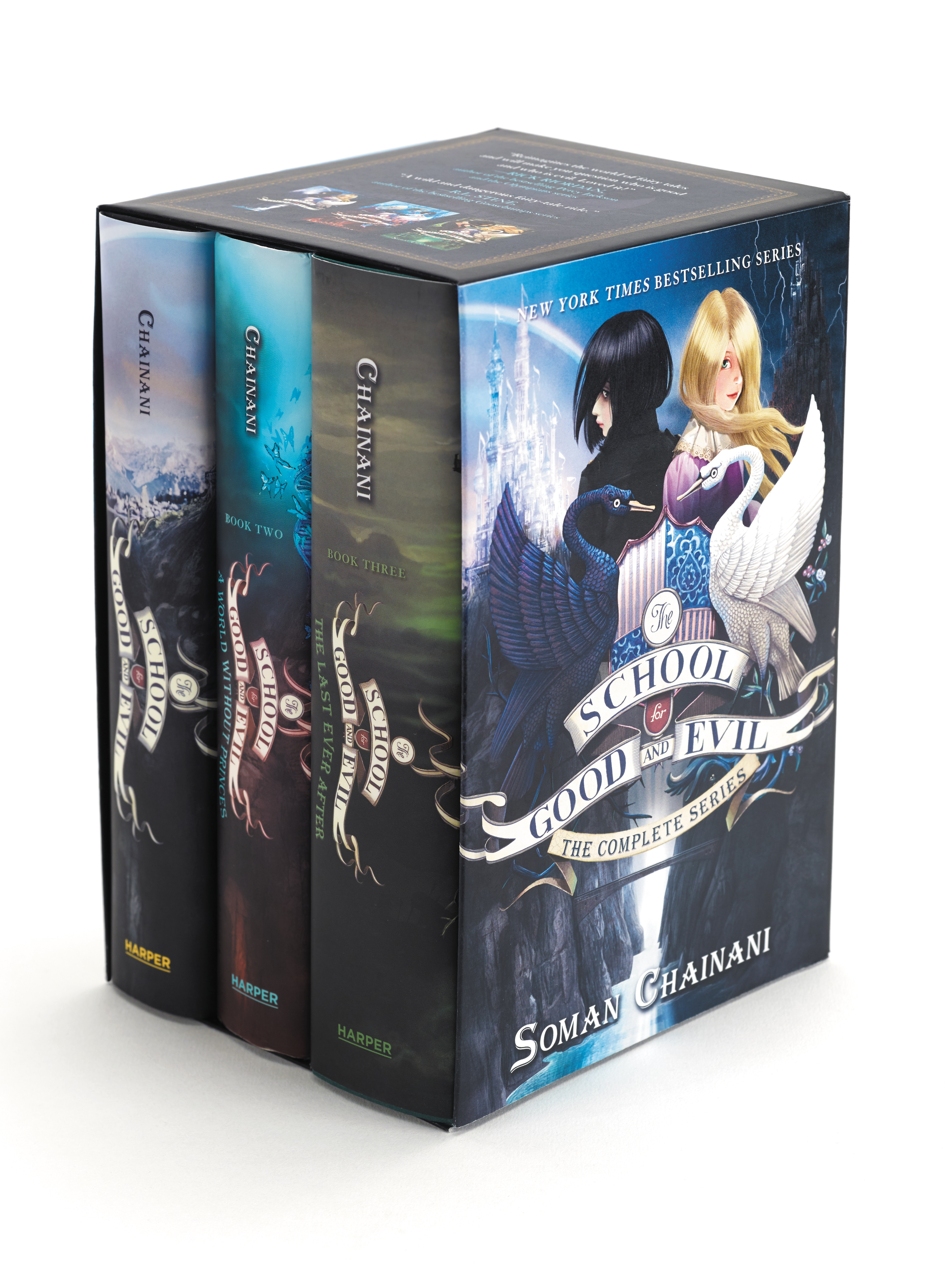 The School for Good and Evil Series Complete Box