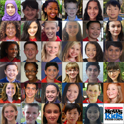 Scholastic News Kids Press Corps™ Welcomes 27 New Kid Reporters For Election 2016 Coverage