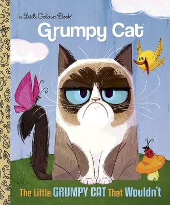 World Famous Feline Grumpy Cat Joins Iconic Little Golden Books Line in 2016