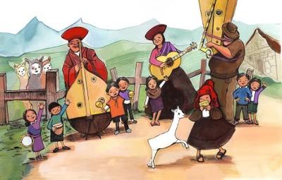 #DrawingDiversity: 'Maria Had a Little Llama / María Tenía Una Llamita' by Angela Dominguez