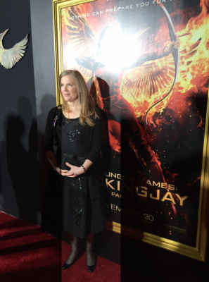 Suzanne Collins Thanks the Team Behind the Hunger Games Films