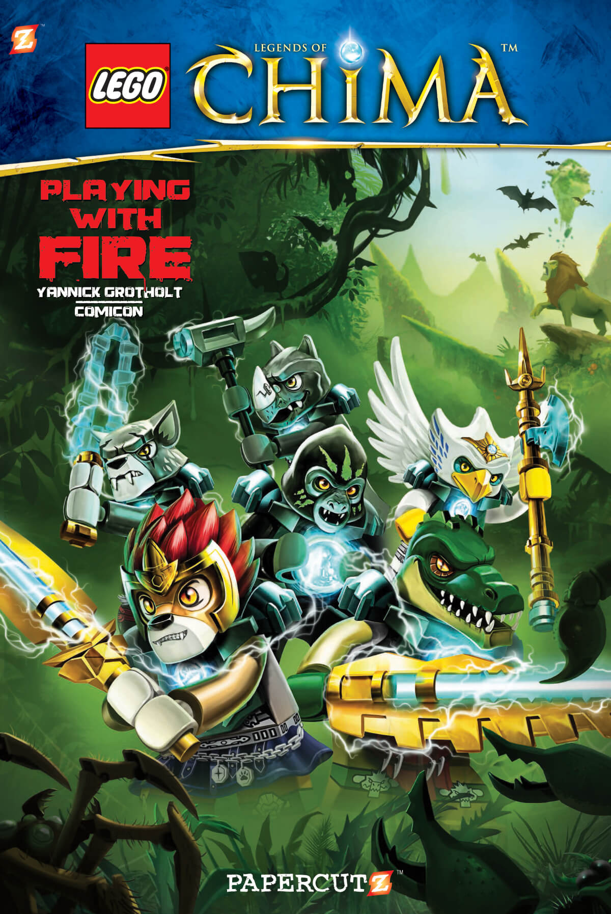 "LEGO Legends of Chima #6: ""Playing with Fire"""