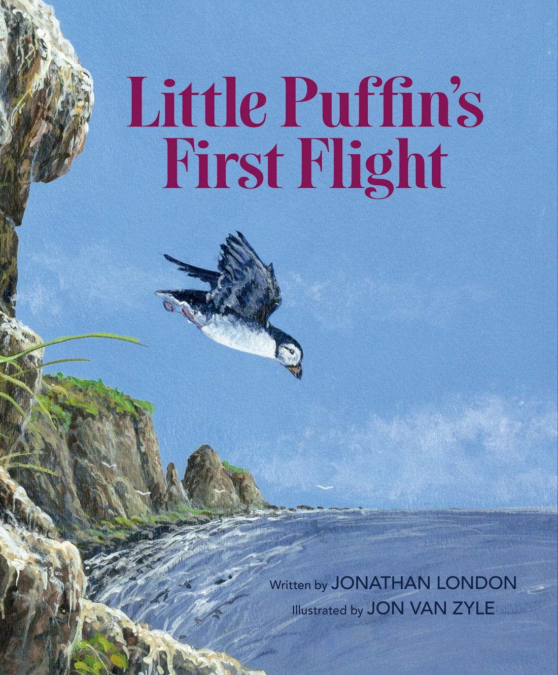 Little Puffin's First Flight