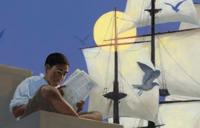#DrawingDiversity: 'Words Set Me Free' illustrated by James E. Ransome