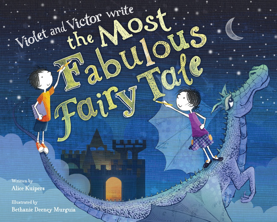 Violet and Victor Write the Most Fabulous Fairytale
