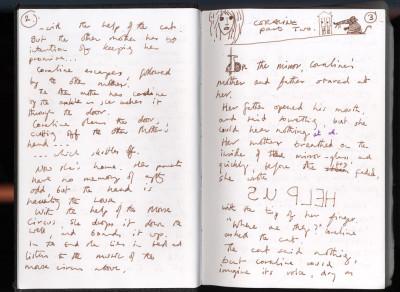 Neil Gaiman on Writing Longhand