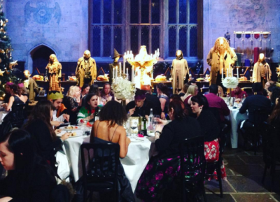 Fans Celebrate Christmas at Hogwarts