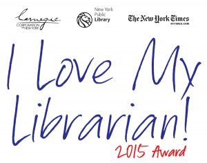 2015 I Love My Librarian Awards Announced