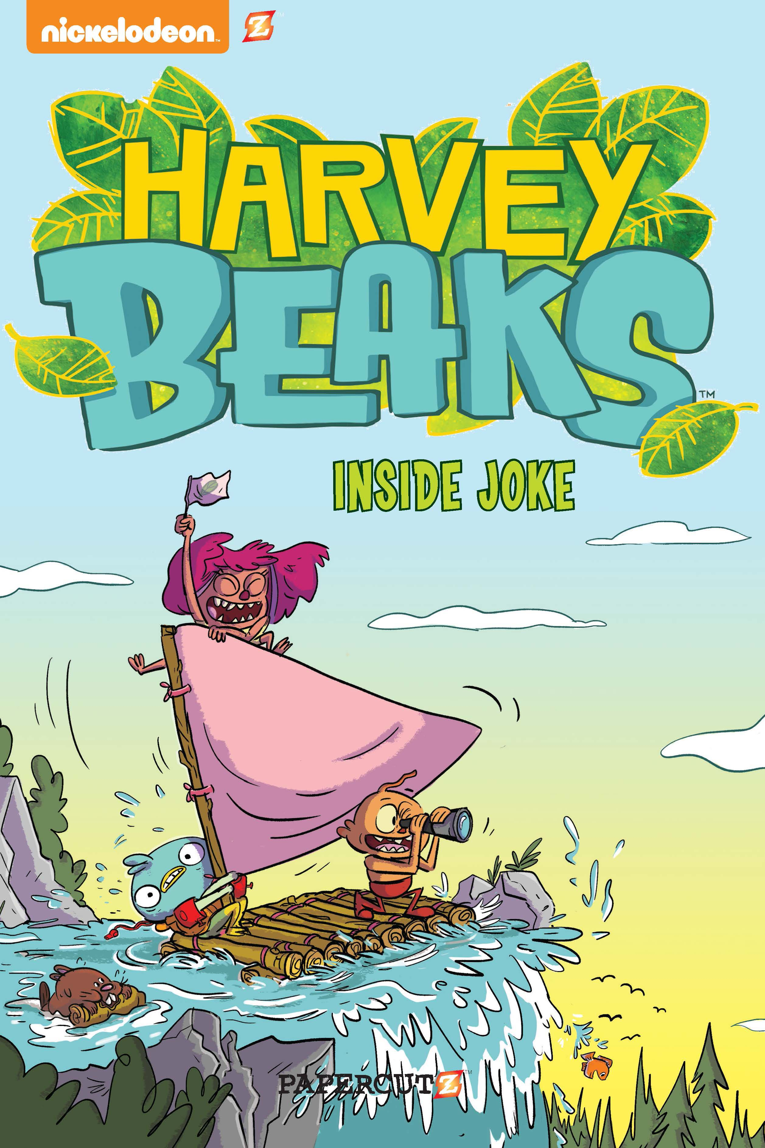 "Harvey Beaks #1: ""Inside Joke"""