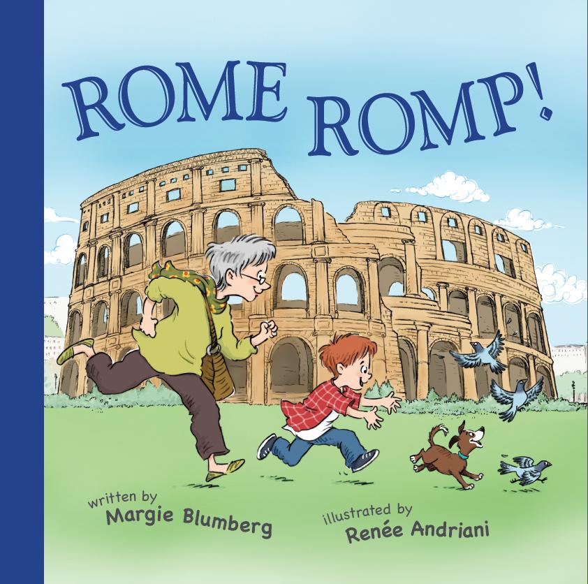 Rome Romp! Travel Adventures With Grandma Goldie (Book 2)