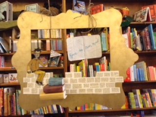 """Reading Without Walls"" Display at Wild Rumpus Bookstore"