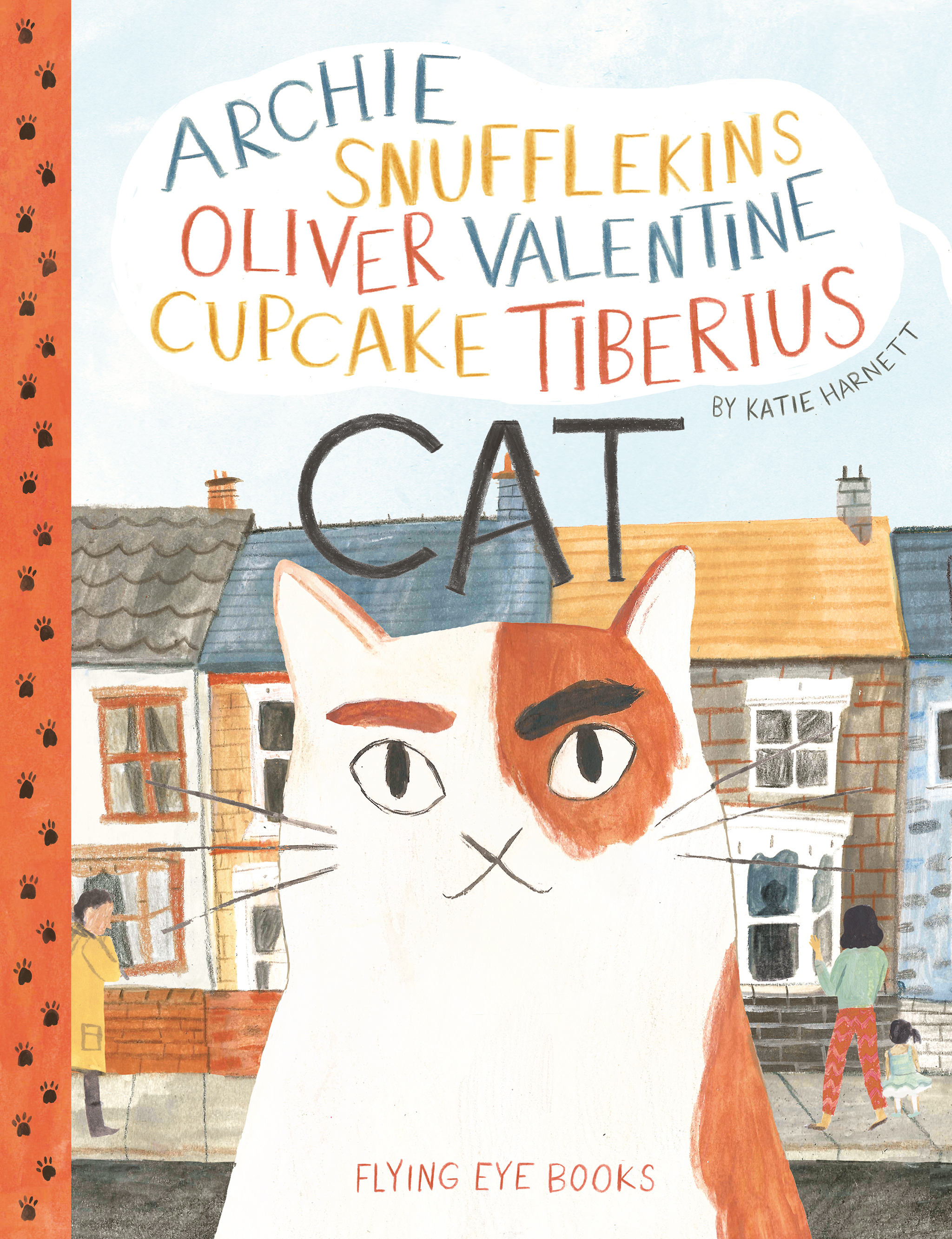 Archie Cupcake Valentine Snufflekins Tiberius Cat