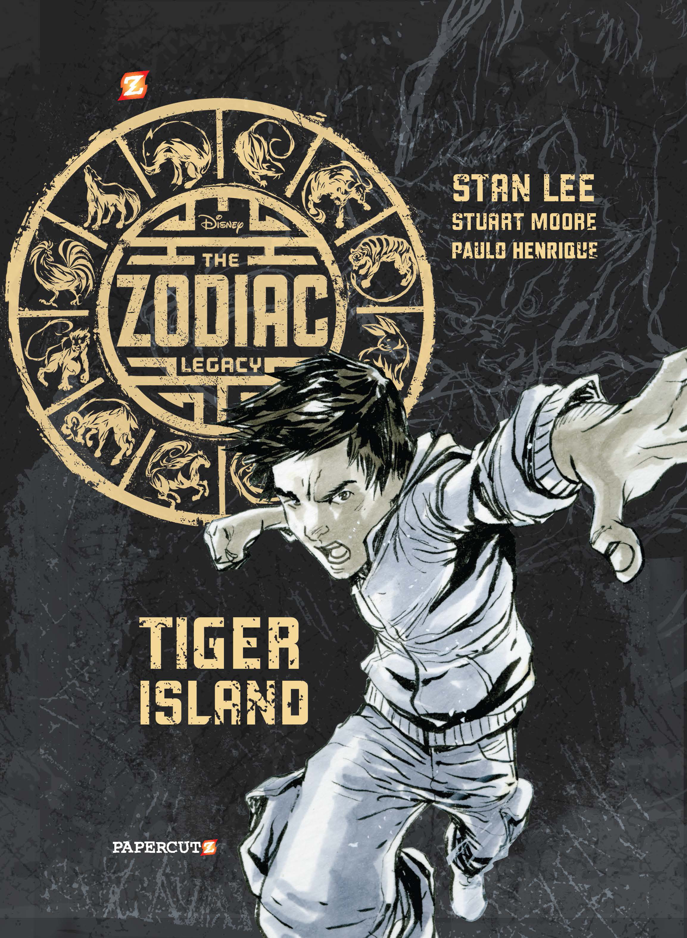 The Zodiac Legacy #1: Tiger Island