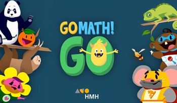 Houghton Mifflin Harcourt Launches GO Math! GO, the Fun Math App for Young Learners At Home and On the Move