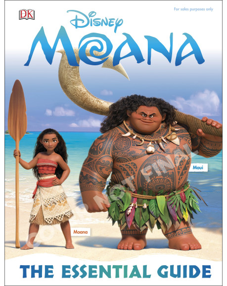 Disney Moana: The Essential Guide
