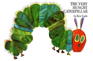 The Very Hungry Caterpillar, Eric Carle's Beloved Children's Book, Now Available as an E-Book