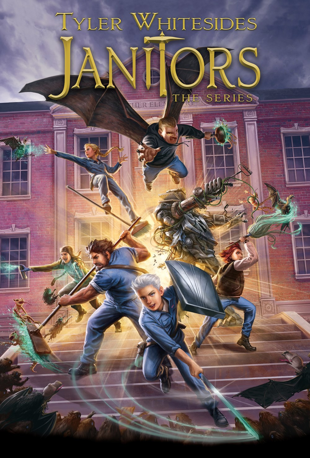 Janitors Series: Boxed Set