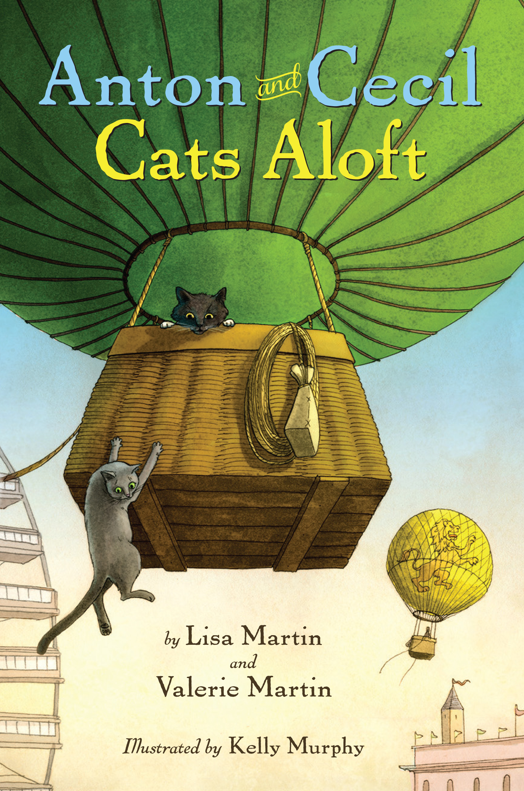 Anton and Cecil: Cats Aloft