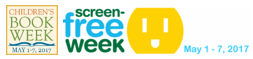 Screen-Free Week to Partner with Children's Book Week for May 1 – 7, 2017