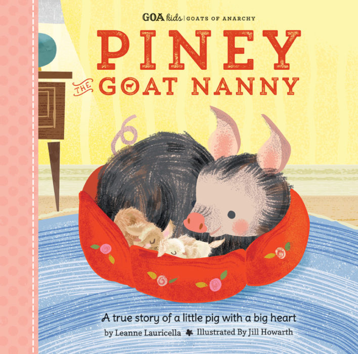 GOA Kids – Goats of Anarchy: Piney the Goat Nanny