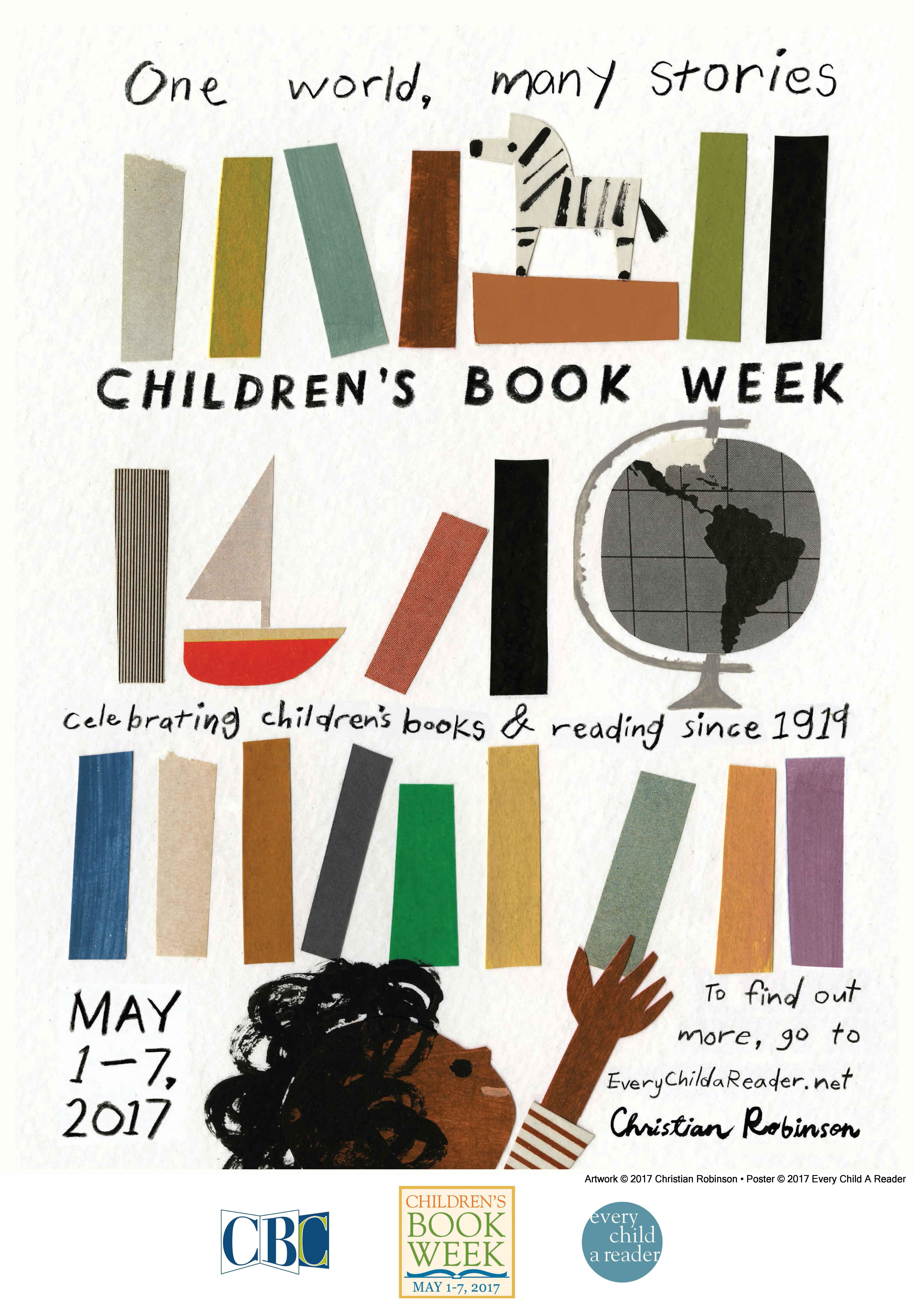 2017 Children's Book Week Poster Revealed; Event Location Online  Signup Now Open