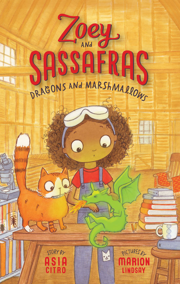 Dragons and Marshmallows (Zoey and Sassafras, Book 1)