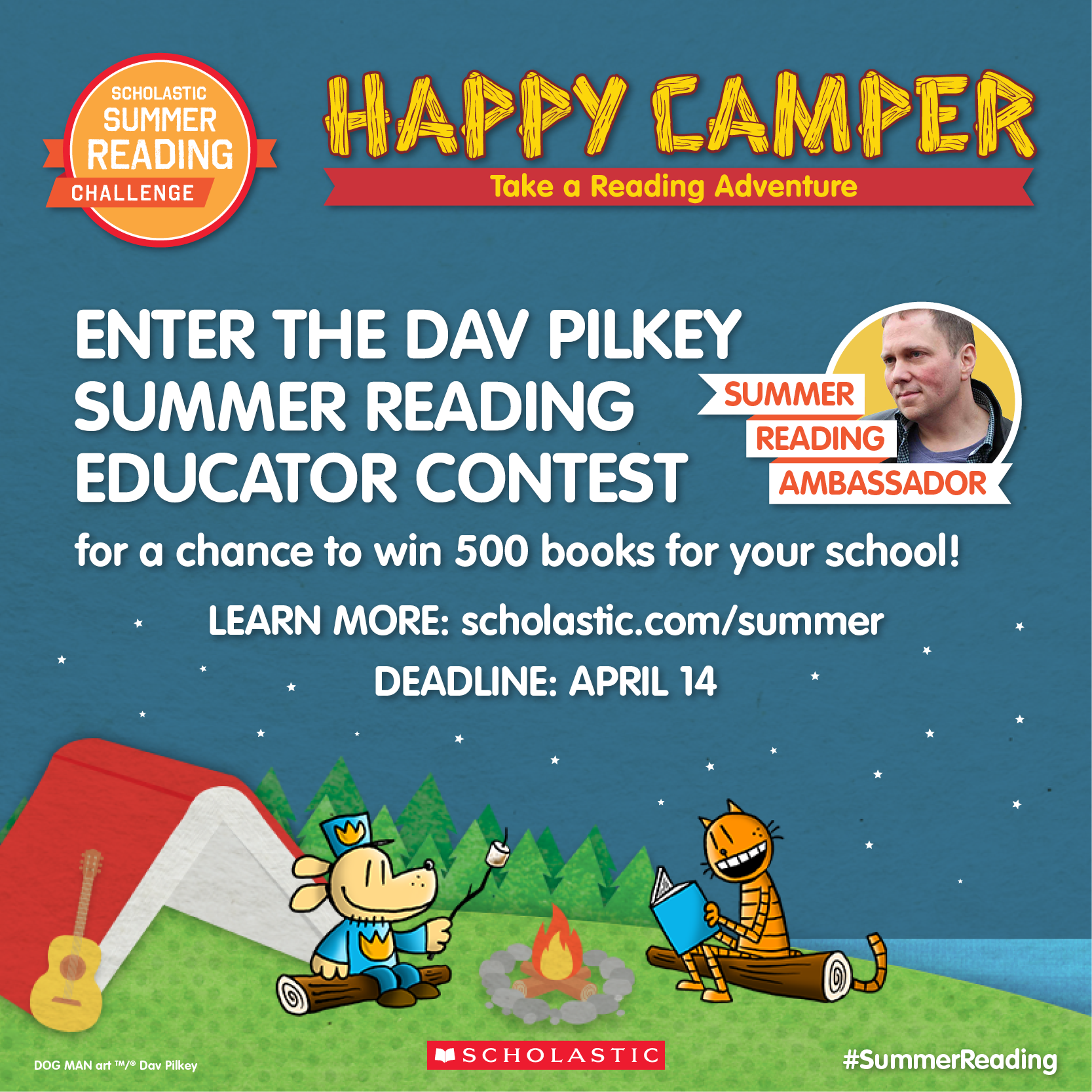 Exciting News On The 2017 Scholastic Summer Reading Challenge