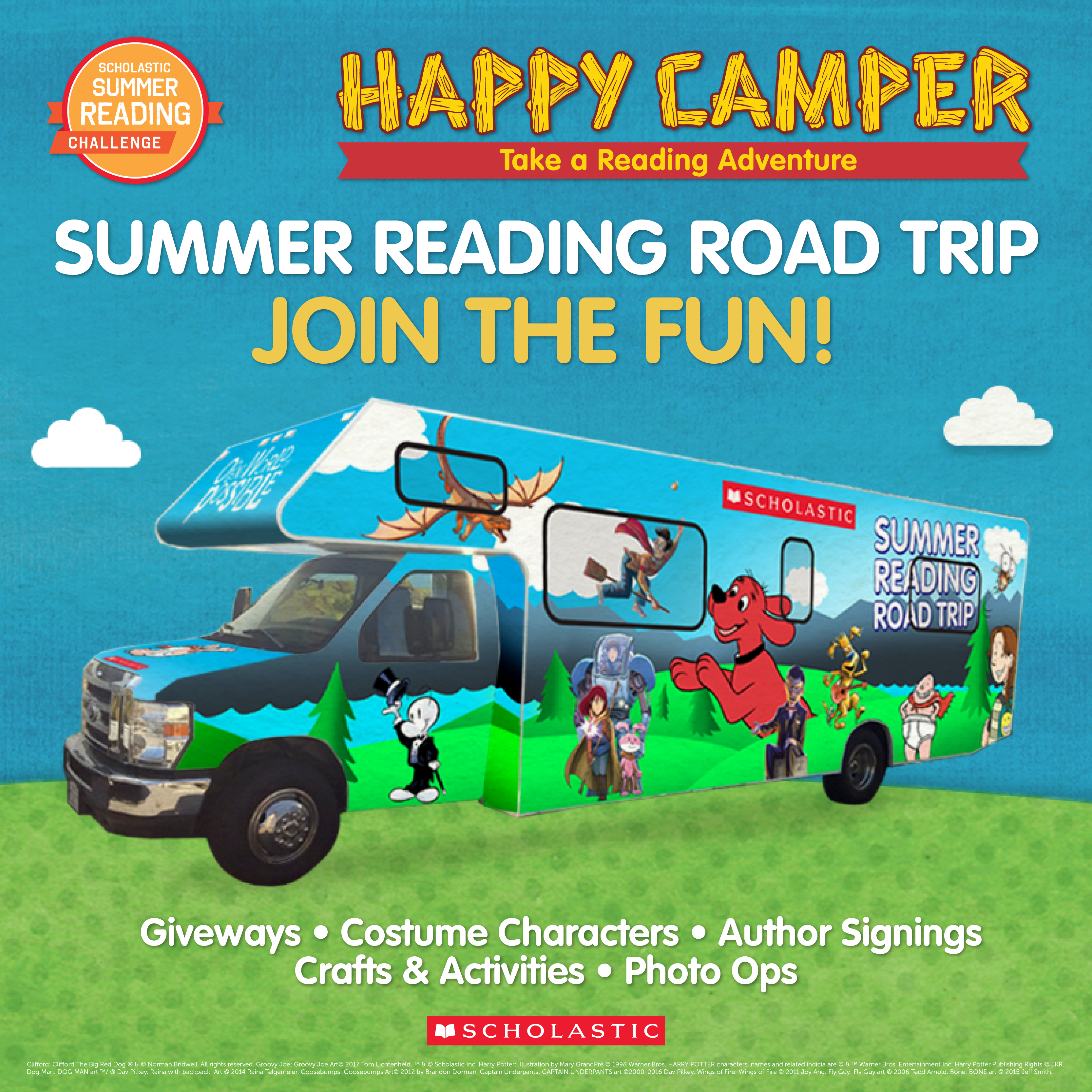 Kids Summer Reading Adventure Starts Now With The 2017 Scholastic  Summer Reading Challenge And Reading Road