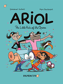 "Ariol Vol. 10: ""The Little Rats of the Opera"""