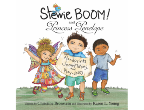 Stewie BOOM! and Princess Penelope: Handprints, Snowflakes and Playdates