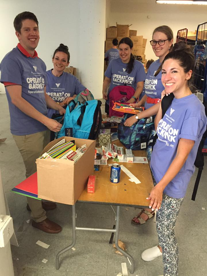 Volunteer Recap: HarperCollins & Operation Backpack
