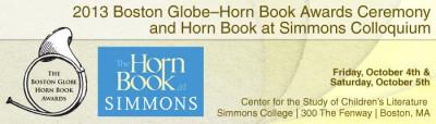 2013 boston globe horn book award ceremony flyer