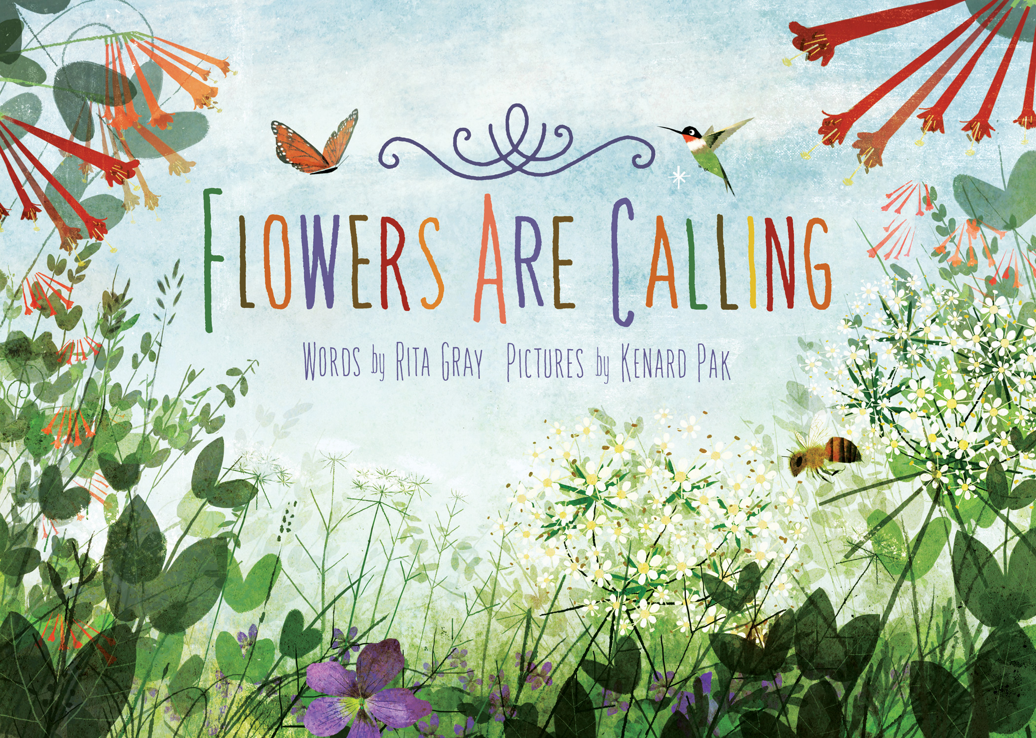 Image result for flowers are calling book
