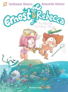 "Ernest & Rebecca  Vol. 4: ""In the Land of Walking Stones"""