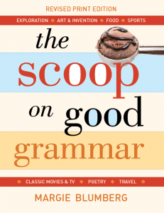 The Scoop on Good Grammar
