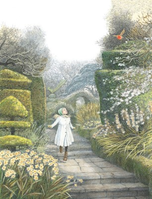 A Secret Garden, illustration by Inga Moore