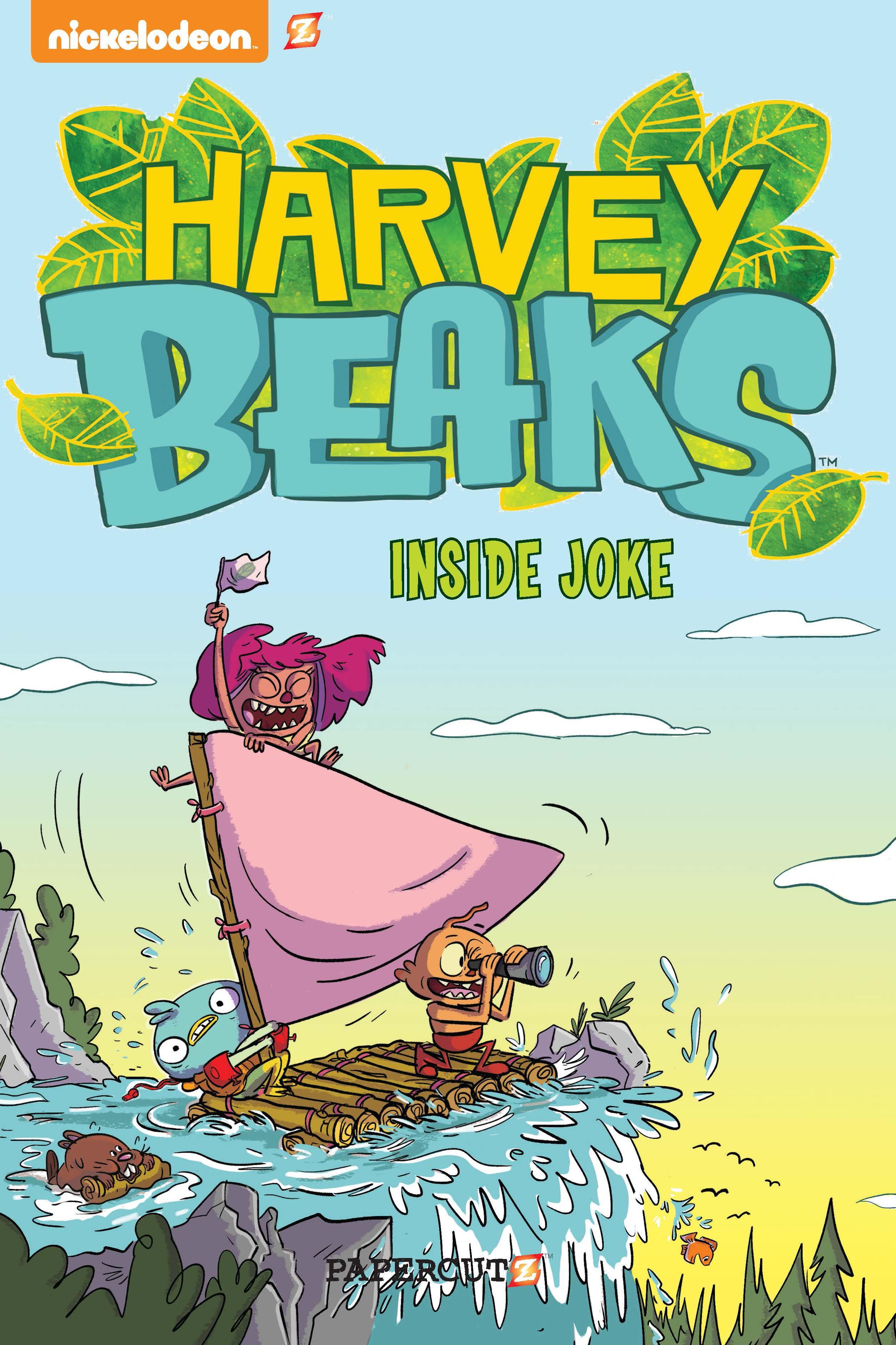 """Harvey Beaks #1: """"Inside Joke"""""""