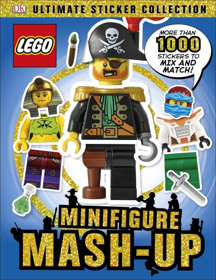 Ultimate Sticker Collection: LEGO® Minifigure: Mash Up