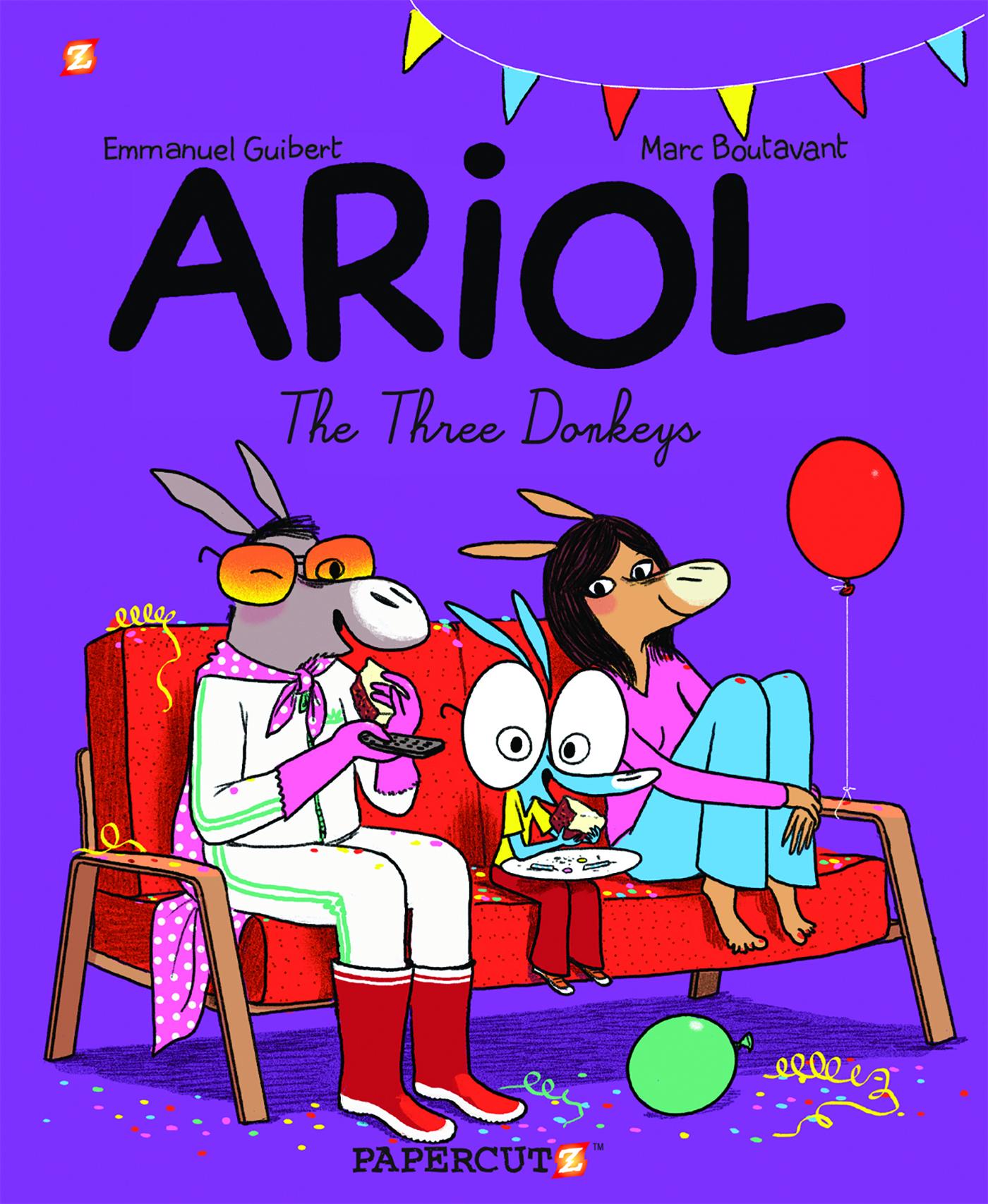 """Ariol #8: """"The Three Donkeys"""""""