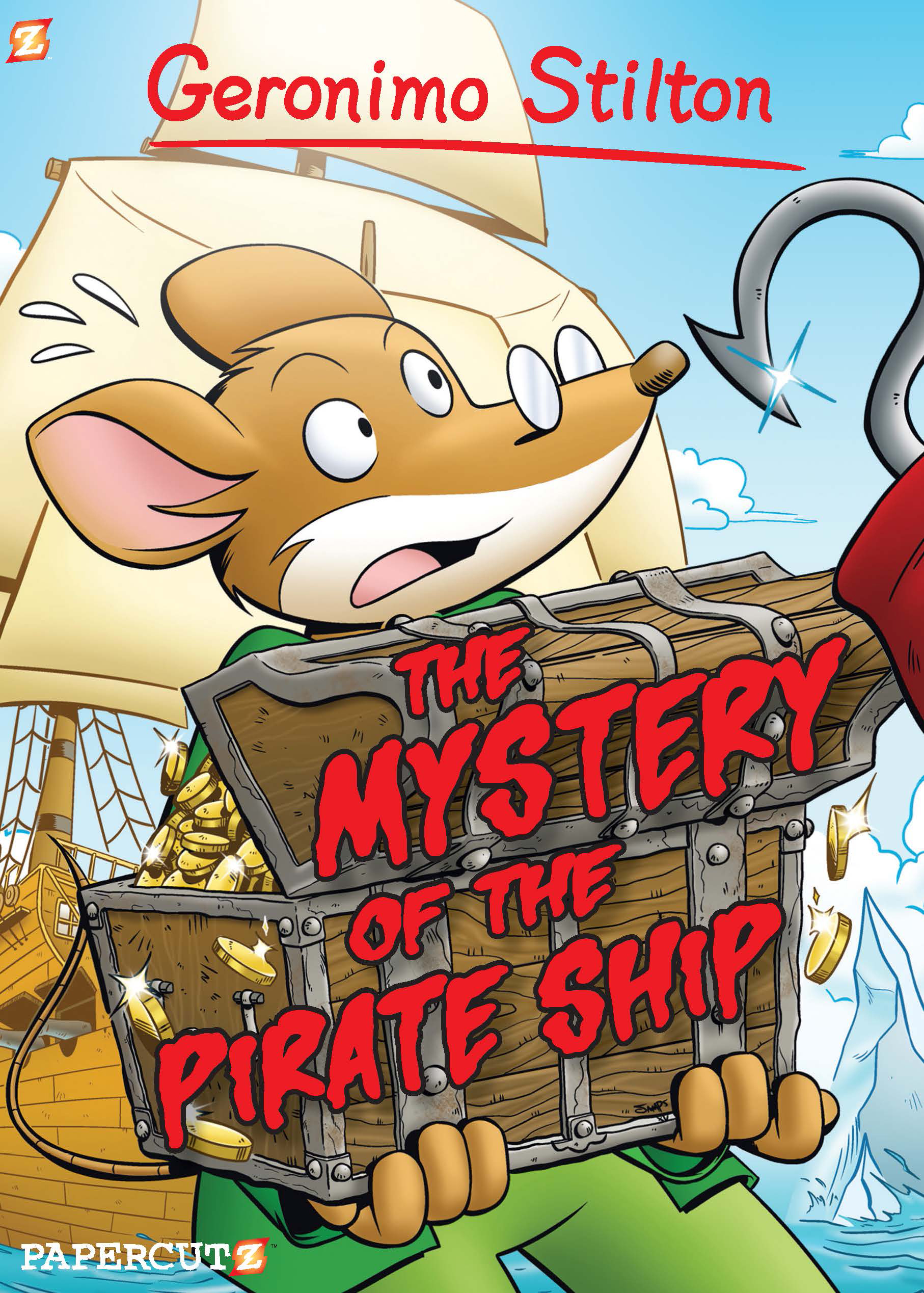 """Geronimo Stilton #17: """"The Mystery of the Pirate Ship"""""""