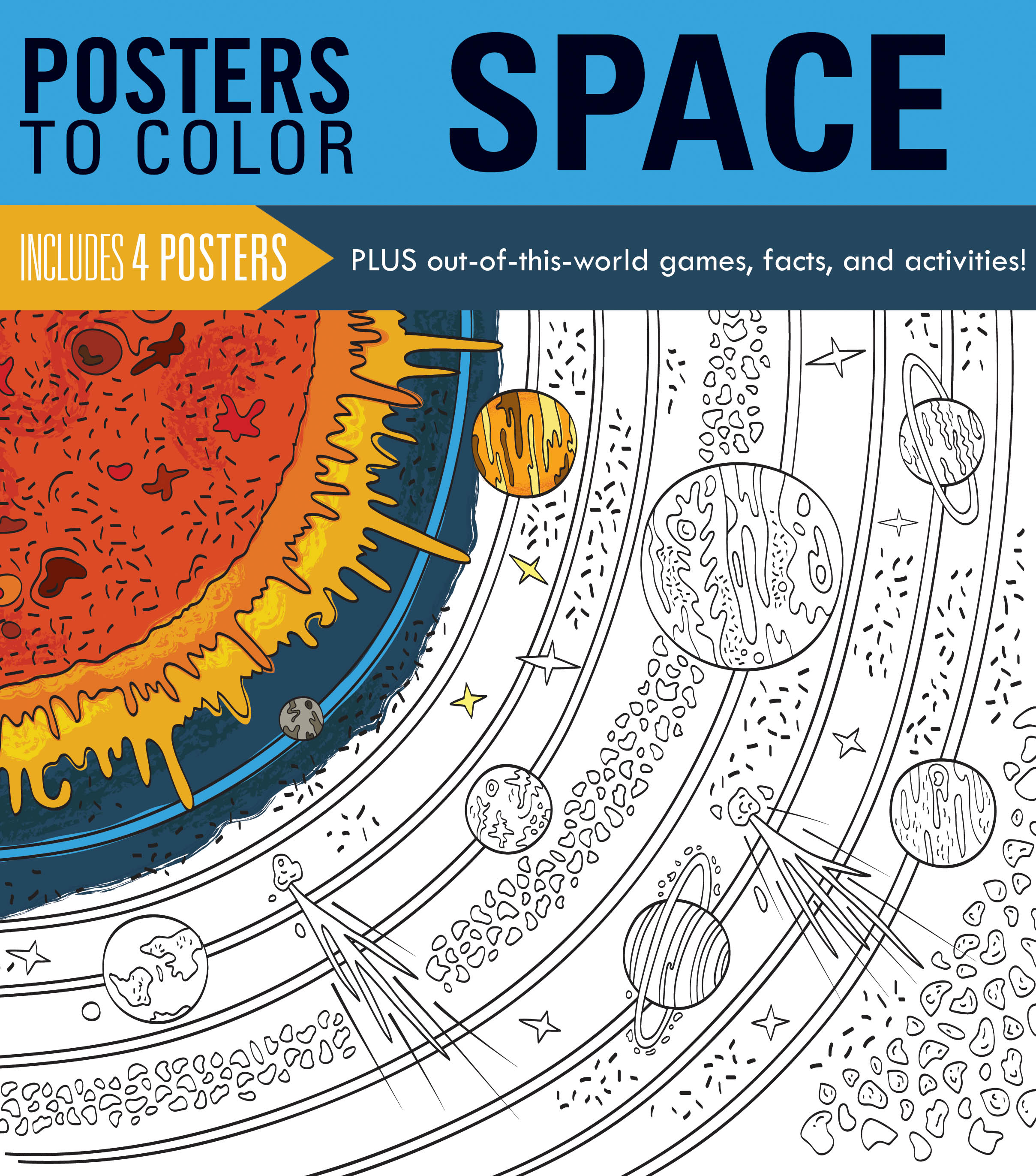 Posters to Color: Space